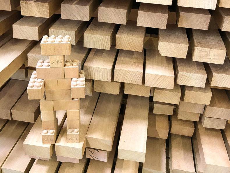 Bausteine-Holz