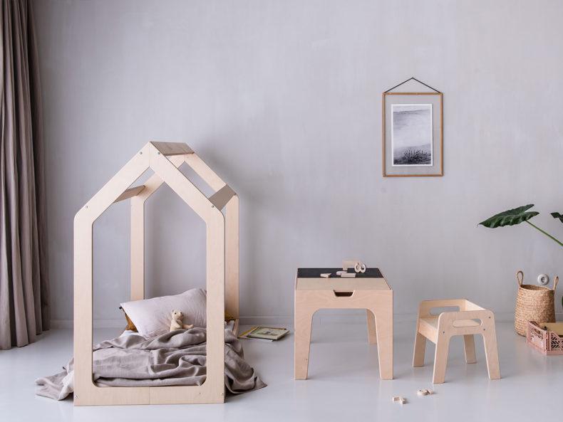 Hausbett Kinderbett Holz Berlin