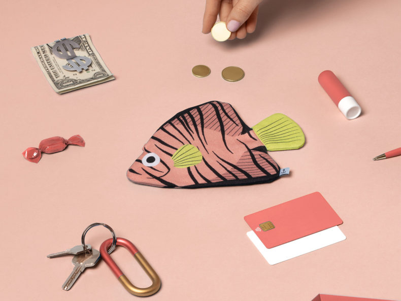 DON FISHER Bat Fish Geldbörse