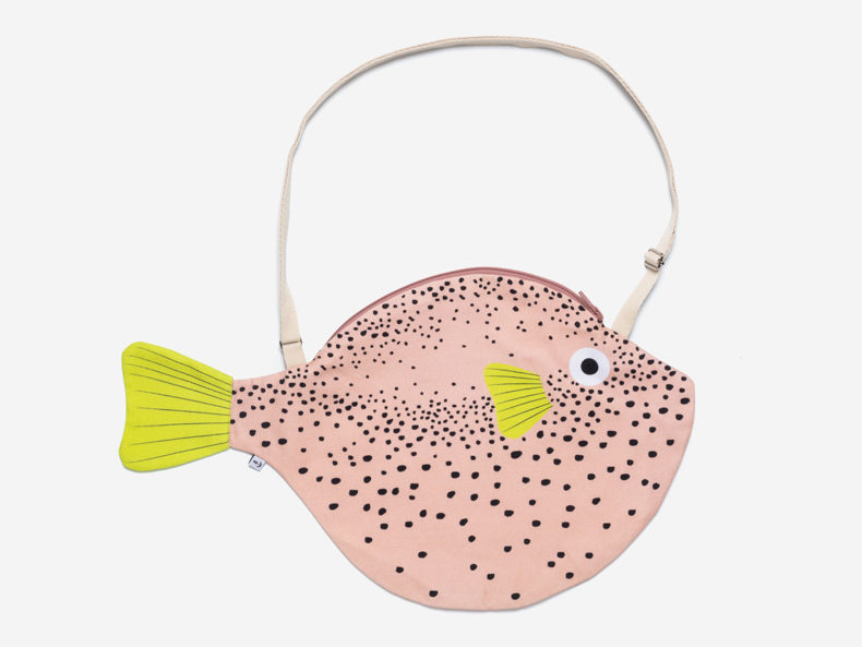 DON FISHER Big Pink Pufferfish
