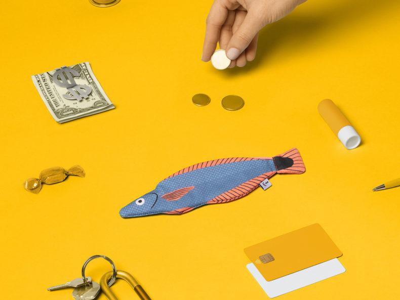 DON FISHER Blue Señorita Tasche