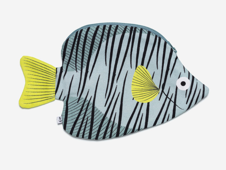 DON FISHER Butterfly fish