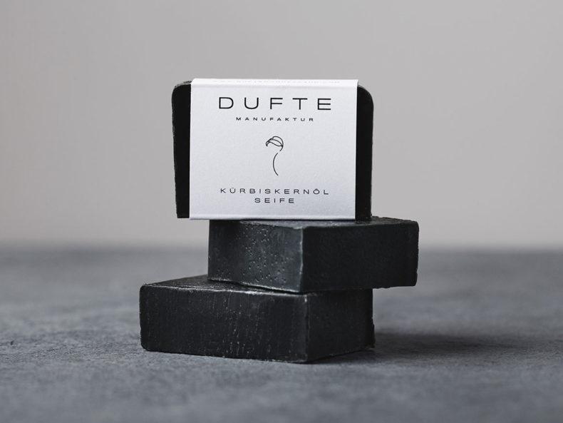 DUFTE Manufaktur Kürbiskernölseife