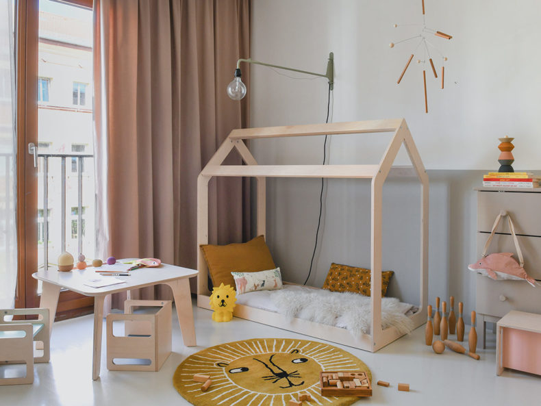 Hausbett Kinderbett Montessori kaufen