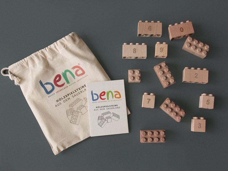 Holzbausteine-Zahlen-BENA