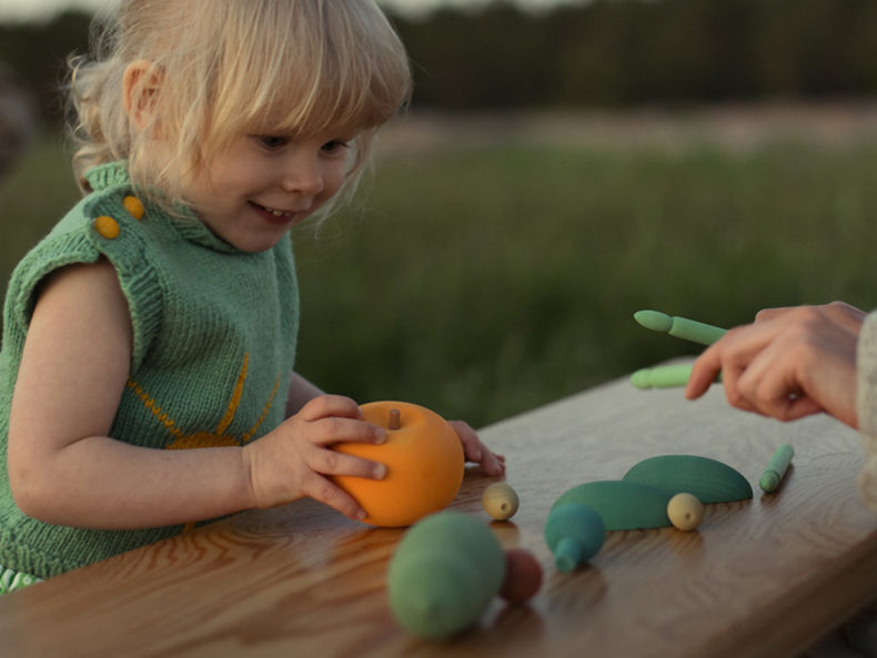 Holzspielzeug Gemüse
