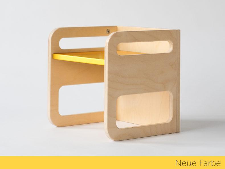 Wendehocker KUBIK gelb