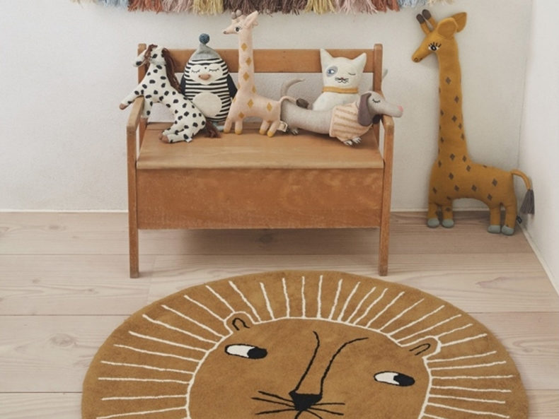 Kinderteppich Löwe OYOY living
