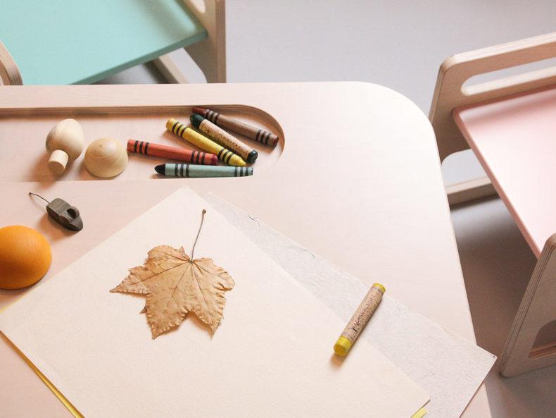Kindertisch Montessori