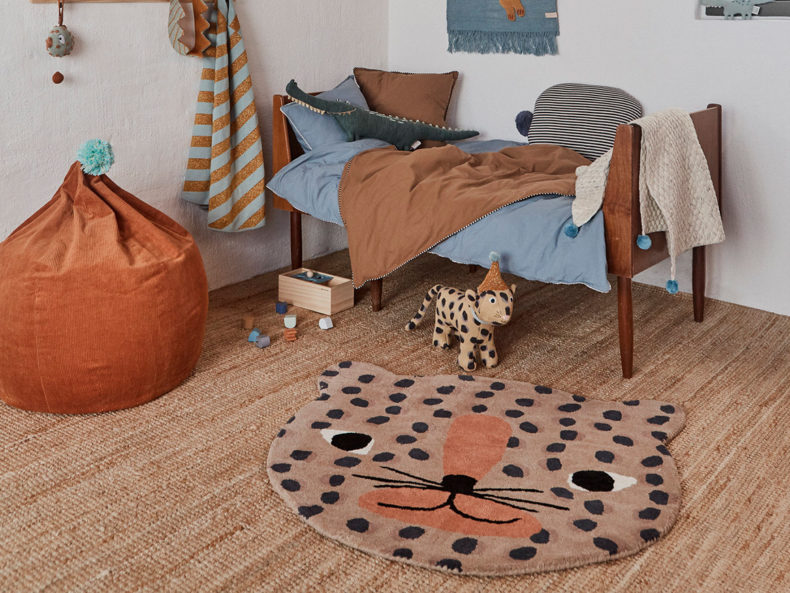 Leopard Rug OYOY living