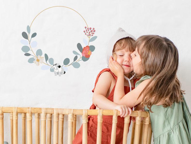Wandsticker Kinderzimmer Mimilou