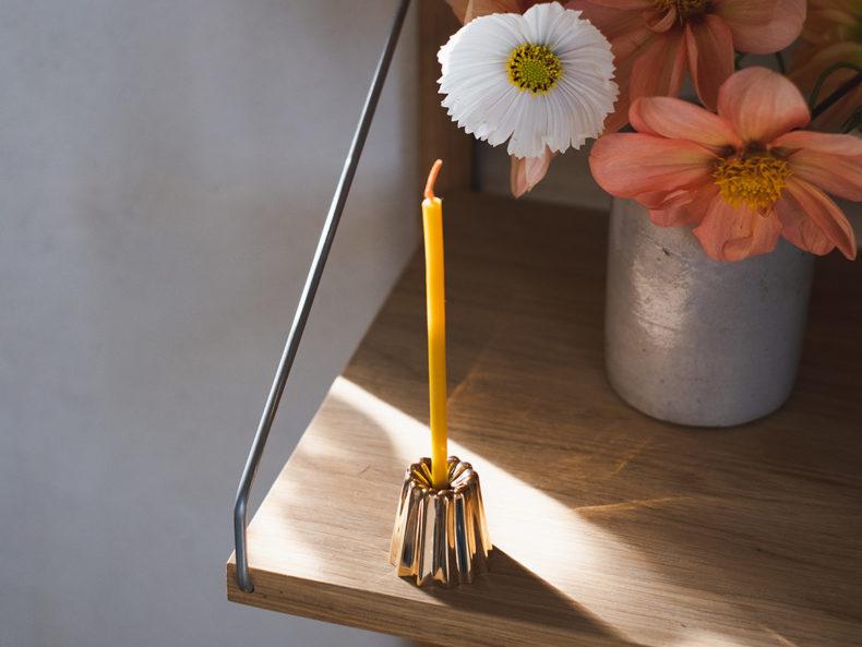 OVO Things Kerzenhalter Bronze