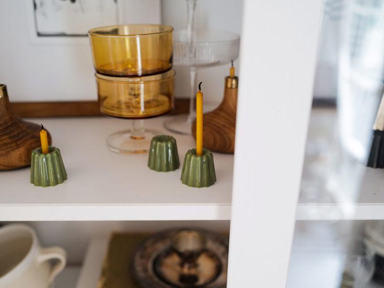 OVO Things Porcelain Candeleholder Green