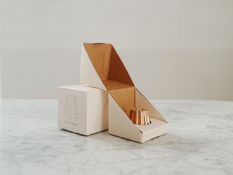OVO Things Canele-Shiny-Bronze-Box