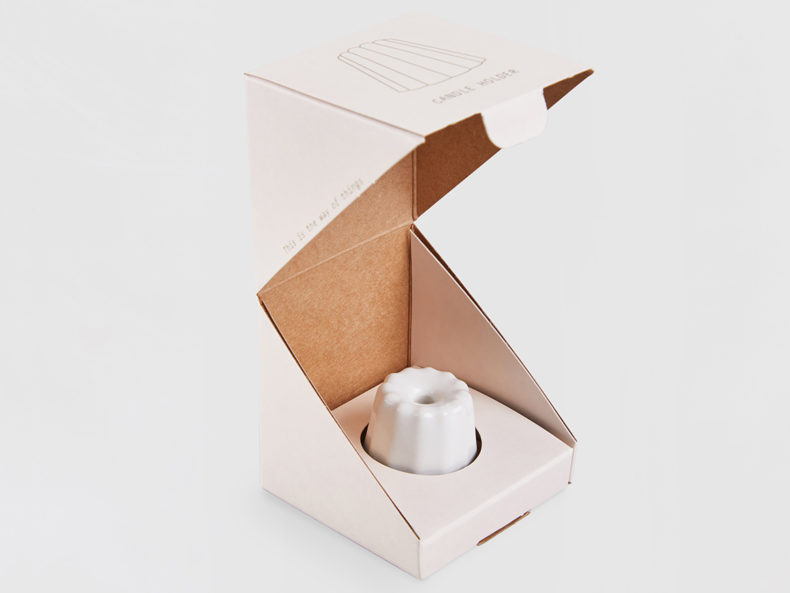 OVO Things Porcelain Canele Glossy White Box