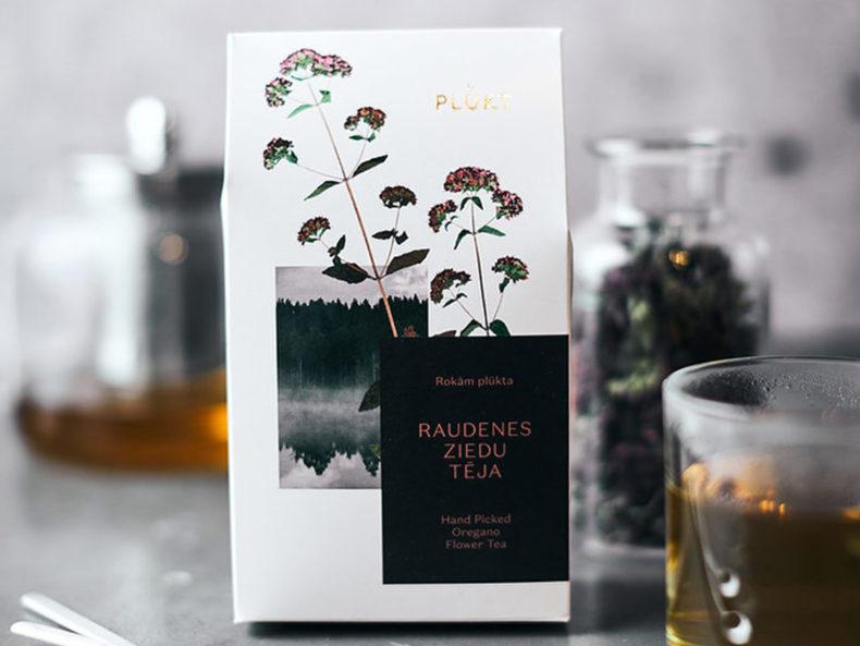 Oregano flower tea