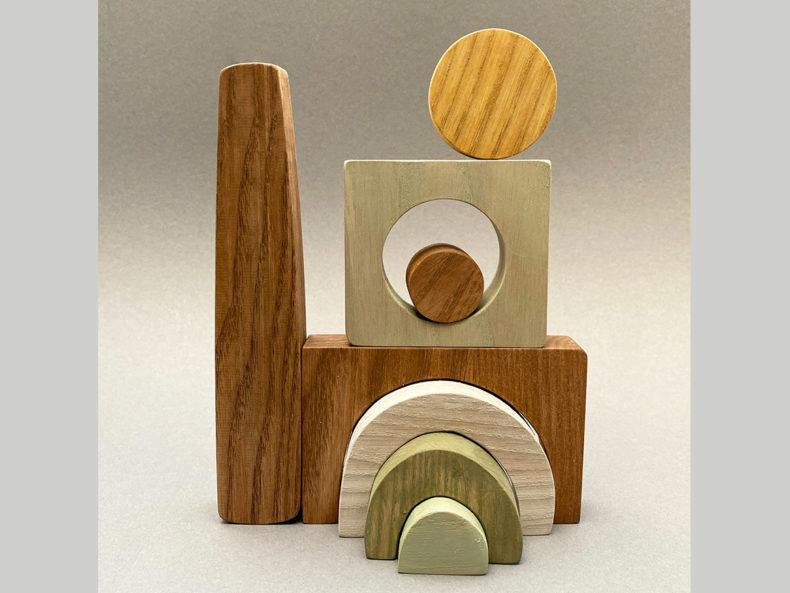 Montessori wooden toy