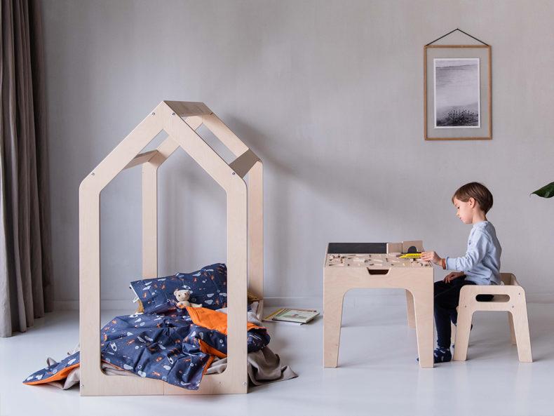 Hausbett Holz