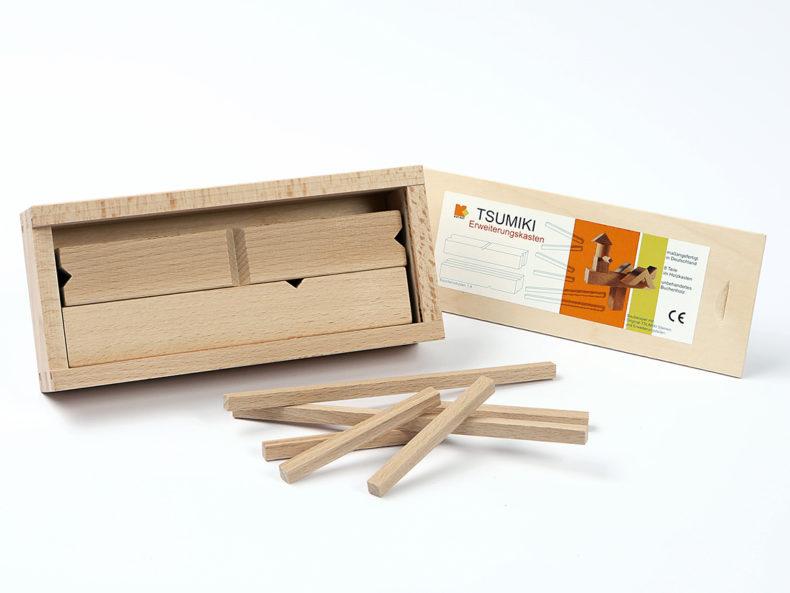 TSUMIKI Japanischen Holzbaukasten Erweiterungskasten