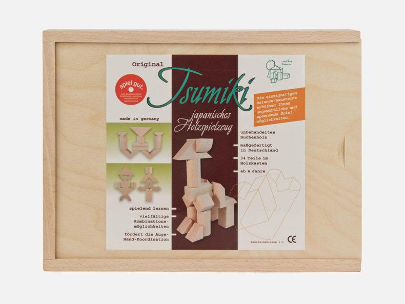 Tsumiki-Holzbaukasten-Erzbebirge