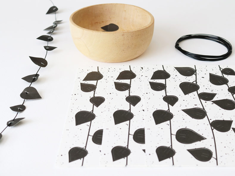 twig leaves Black Jurianne Matter