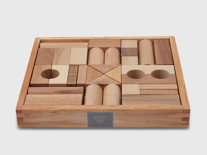 Bauklötze natur Wooden Story