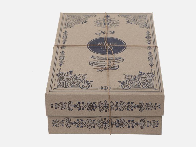 Steckspiel Geschenkkarton WOODEN STORY