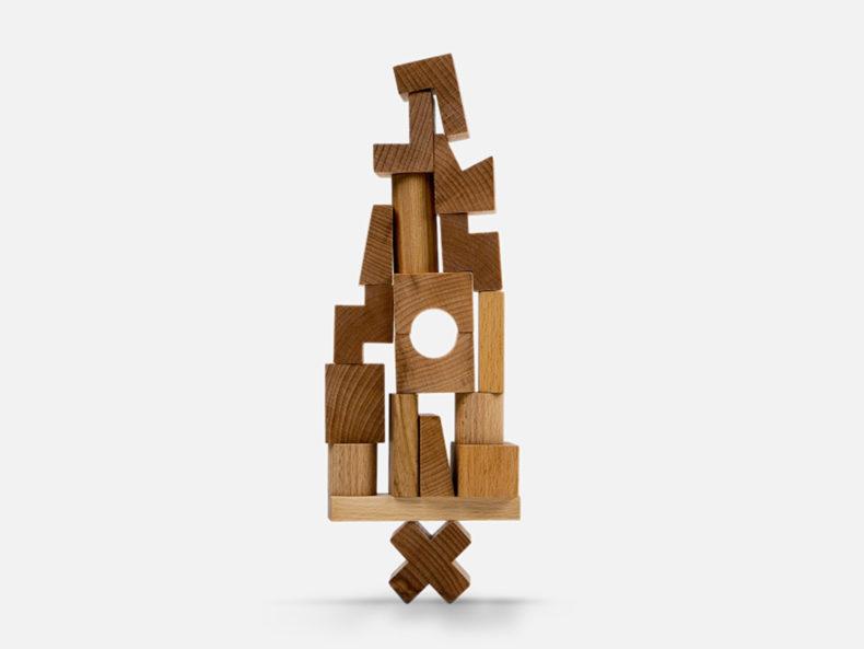 Steckturm wooden story