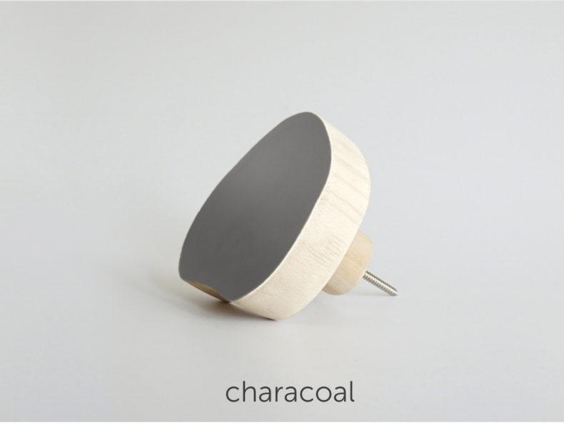 lavariete Wandhaken charcoal