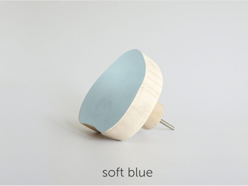 lavariete Wandhaken soft blue
