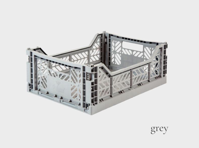 Ay-Kasa Stapelbox MIDI - GREY