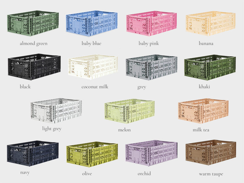Ay-Kasa Stapelbox MAXI Farben