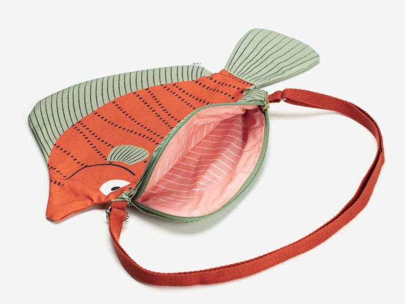 DON FISHER Filefish Fischtasche