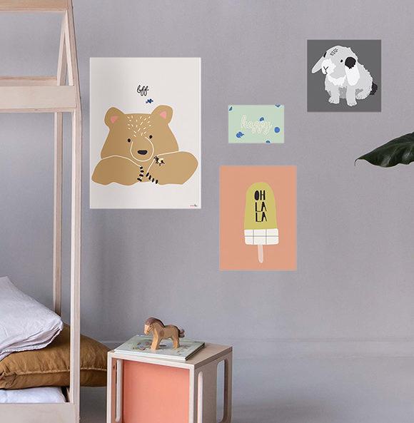 Poster Mimi lou Kinderzimmer