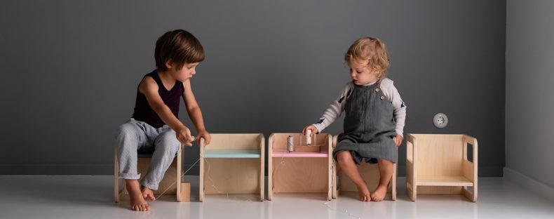 Wendehocker KUBIK - Kinder spielend