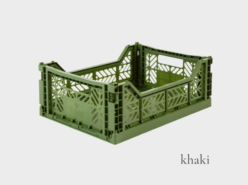 Ay-Kasa Klappbox MIDI KHAKI