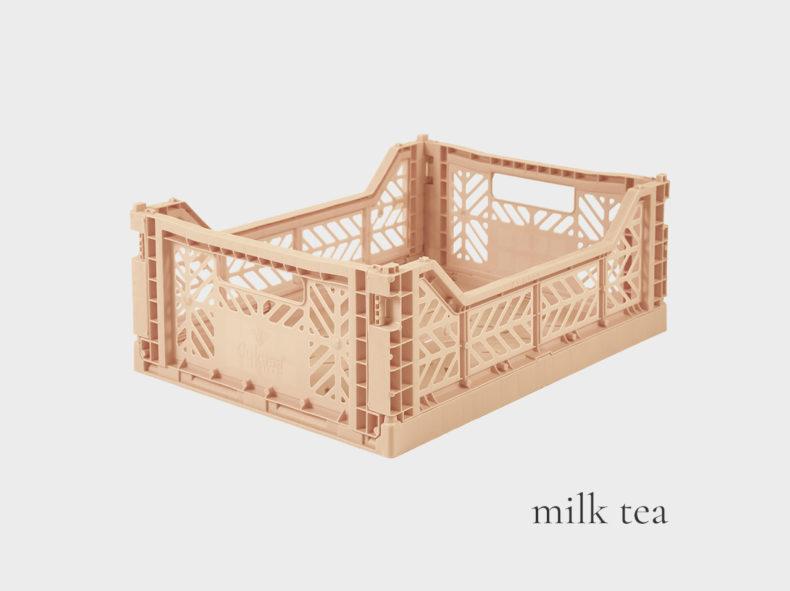 Ay-Kasa Stapelbox MIDI- Farbe MILK TEA