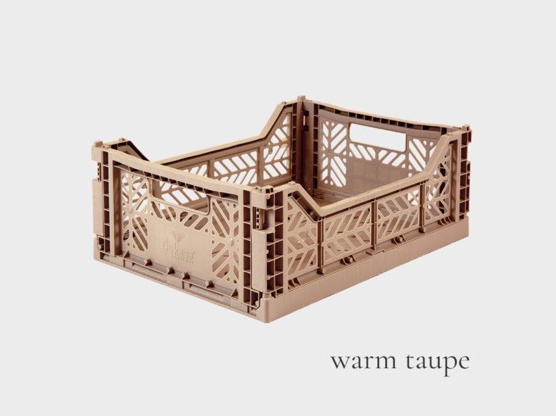 Ay-Kasa Klappbox MIDI WARM TAUPE