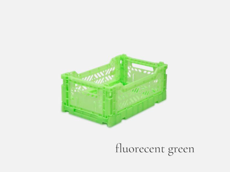 Ay-Kasa MINI fluorecent green