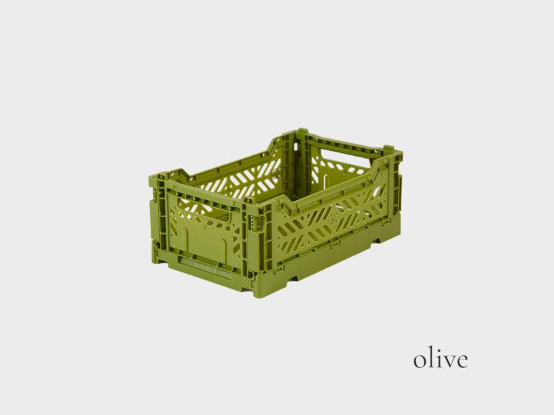 Ay-Kasa Klappbox MINI olive