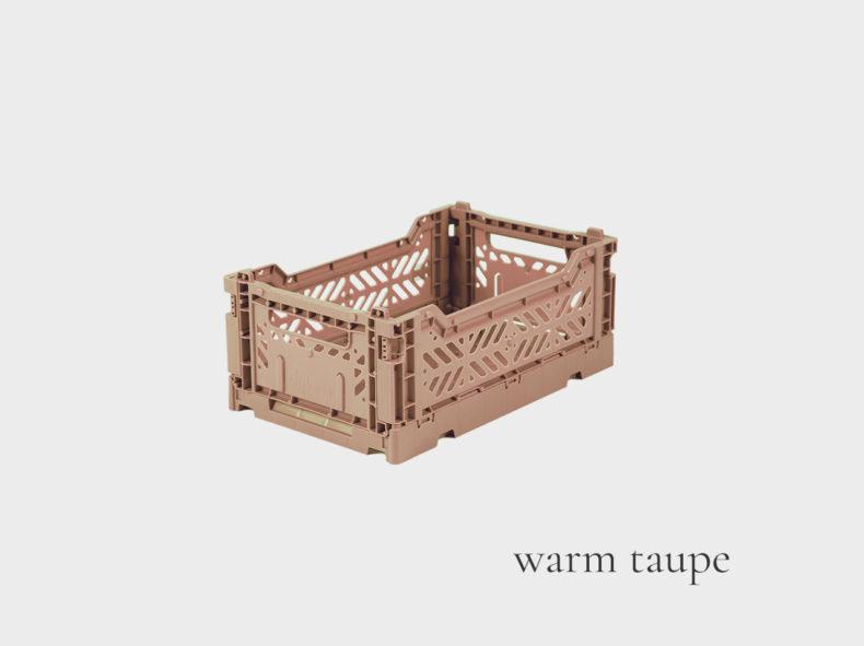 Ay-Kasa Klappbox MINI warm taupe