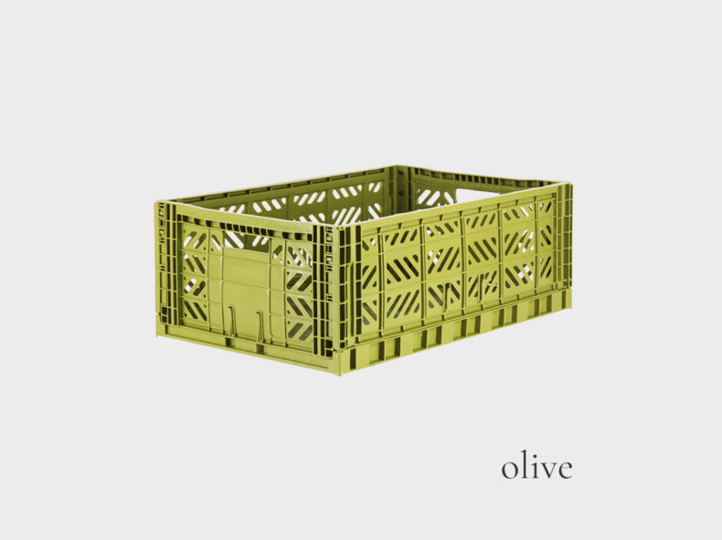 Ay-Kasa Stapelbox MAXI-OLIVE