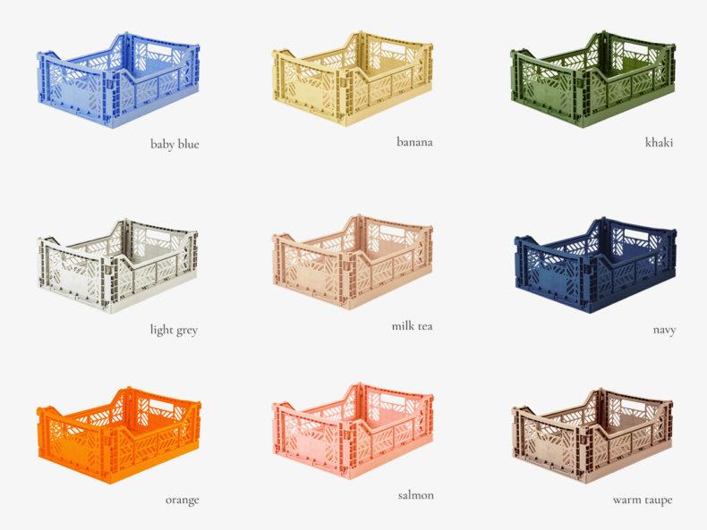 Aufbewahrungsbox Ay-Kasa MIDI - Farben
