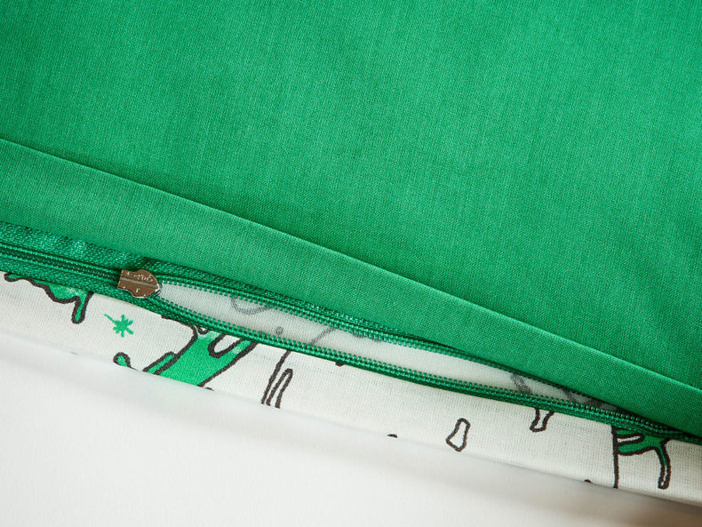 Bettwäsche Dackel grün - Schön oder?