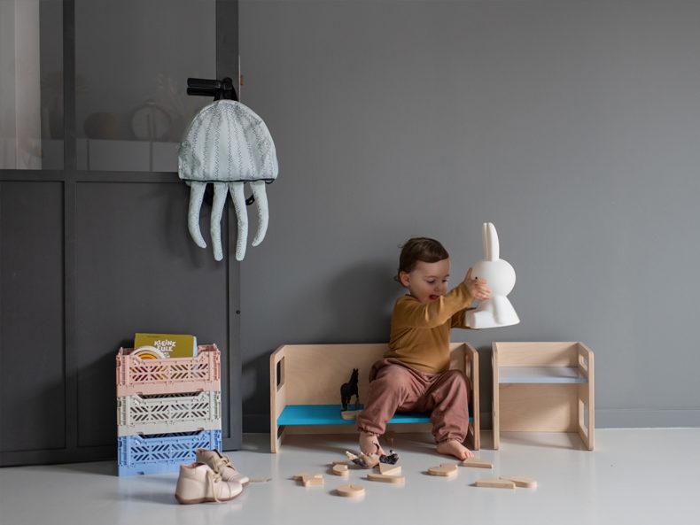 Kinderbank SKAMI Blau