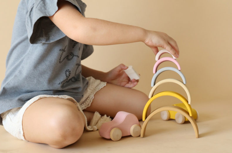 Sand small arch stacker Play
